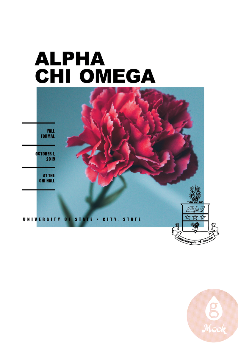 Alpha Chi Omega Red Carnation Formal (digital)