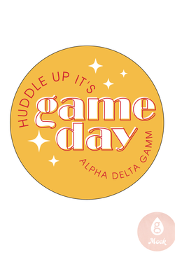 Alpha Gamma Delta Huddle Up