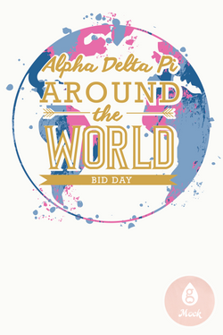 Alpha Delta Pi Earth Bid Day
