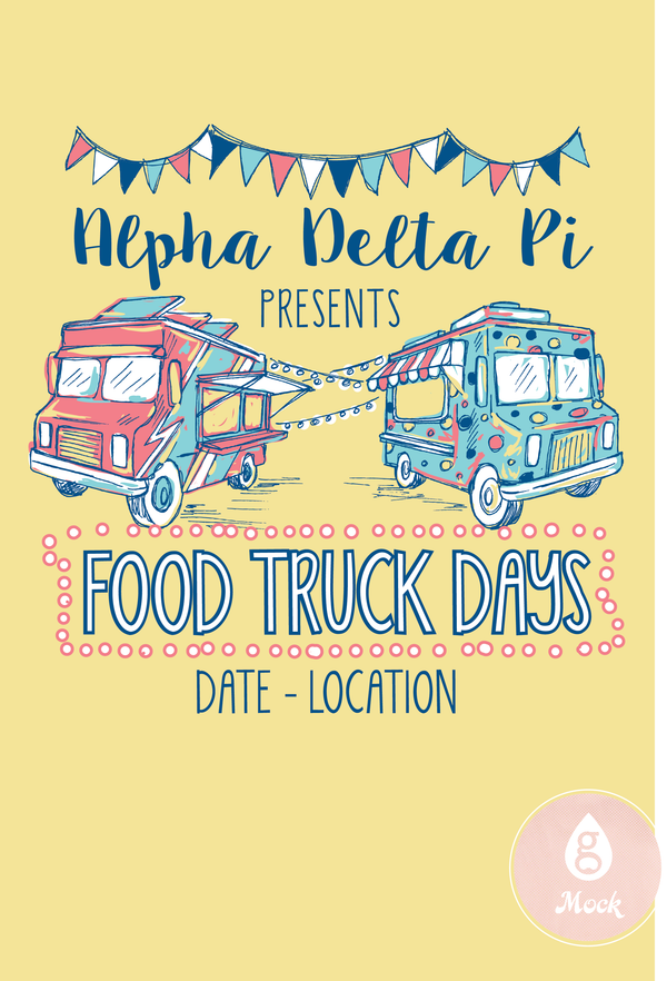 Alpha Delta Pi FoodTruck FF123