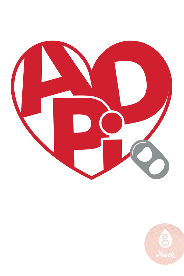 ADP Heart Tab PH296