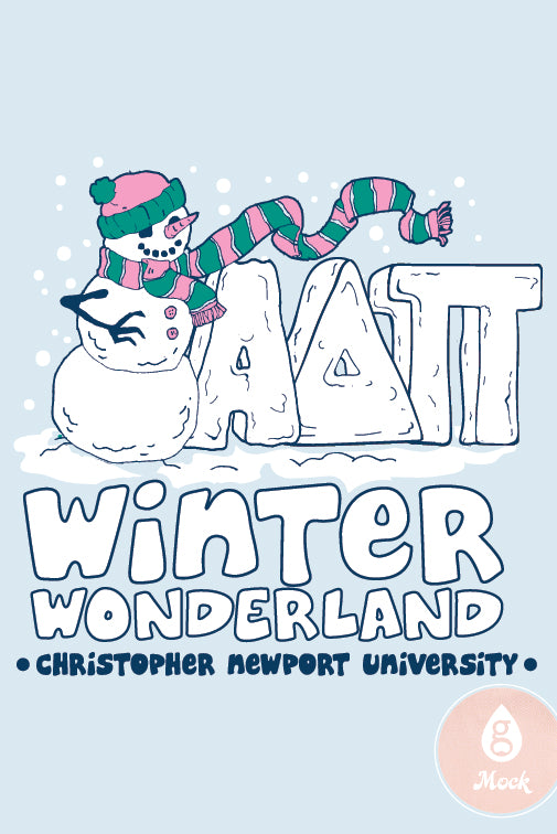 Alpha Delta Pi Holiday Winterwonderland