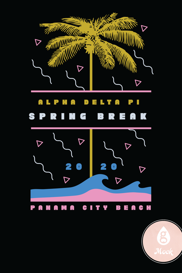 Alpha Delta Pi Spring Break PCB