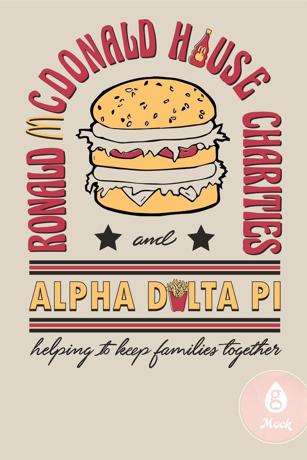 Alpha Delta Pi Philanthropy Ronald McDonald Charities