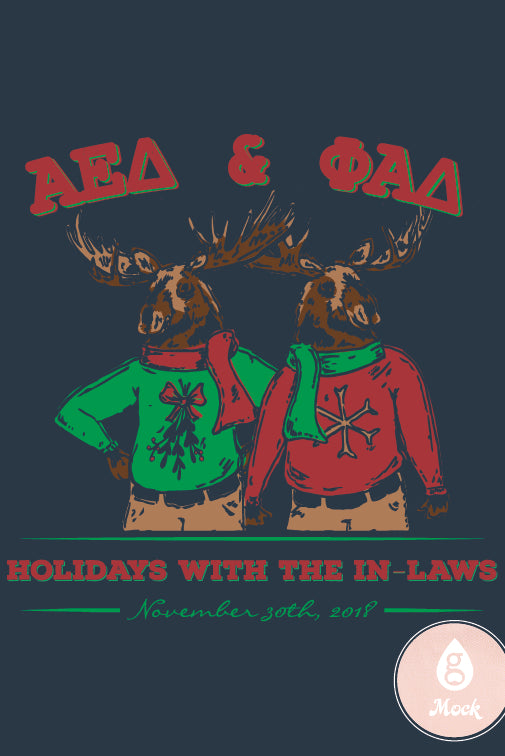 Alpha Epsilon Delta Holiday Moose 2