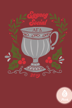 Alpha Gamma Delta Eggnog Social Winter Holiday