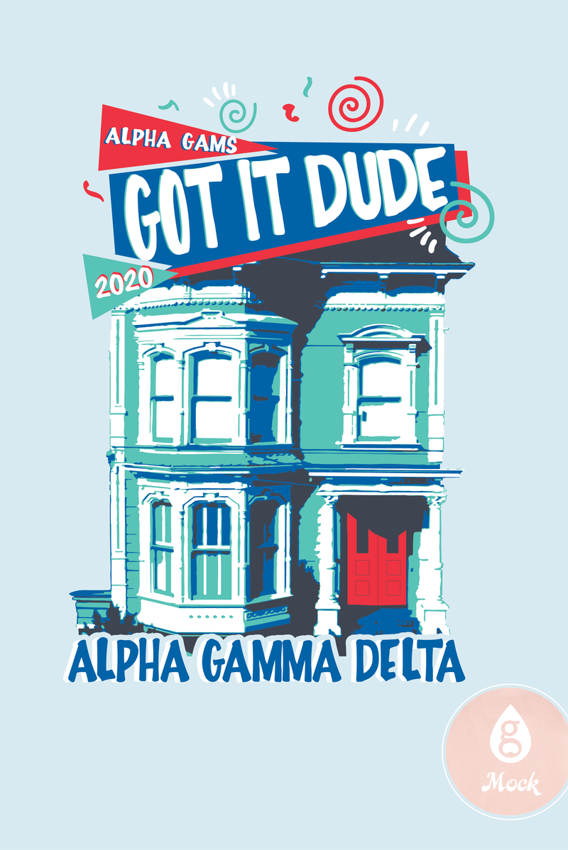 Alpha Gamma Delta Full House