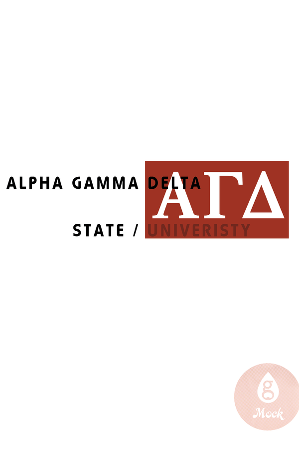 Alpha Gamma Delta Two Ways