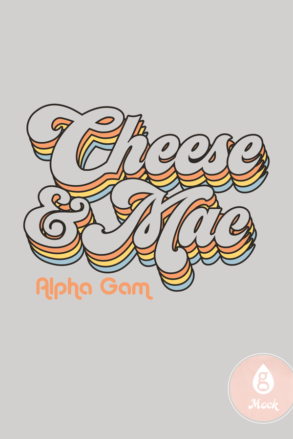 Alpha Gamma Delta Vintage Cheese & Mac