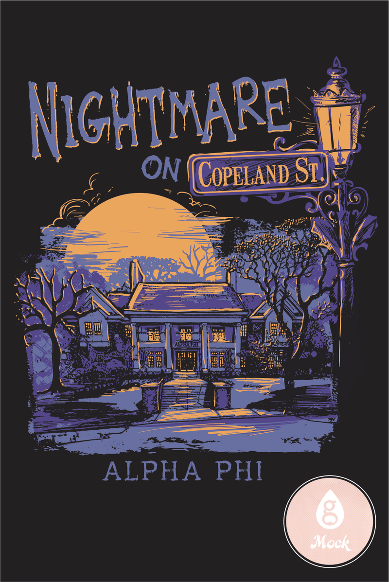Alpha Phi Halloween Nightmare House