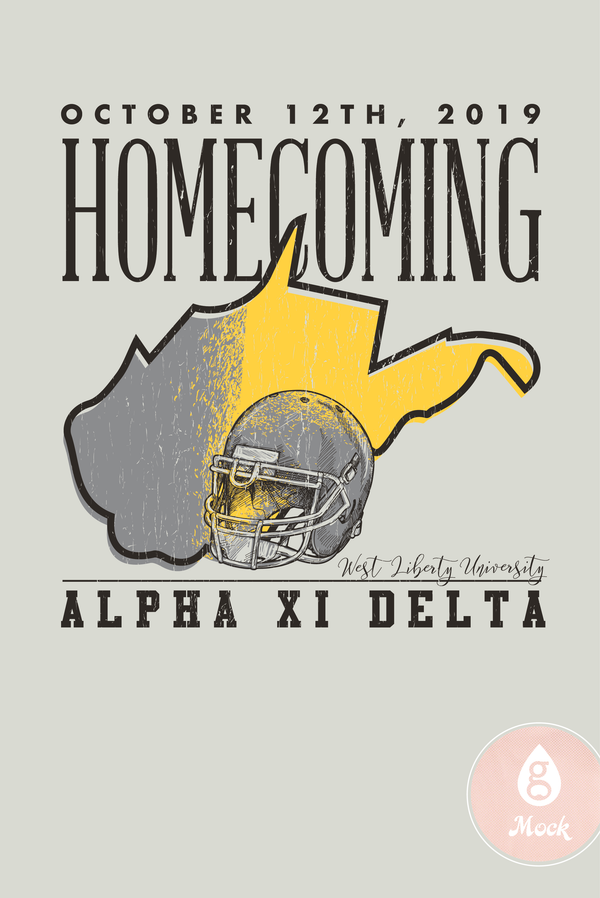 Alpha Xi Delta Homecoming Helmut State