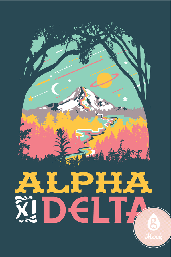 Alpha Xi Delta Space to Earth