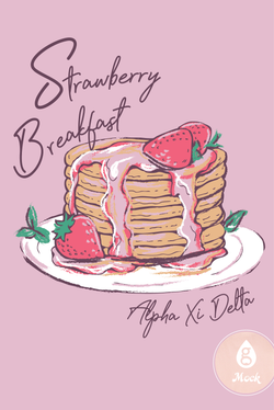 Alpha Xi Delta Strawberry Pancakes