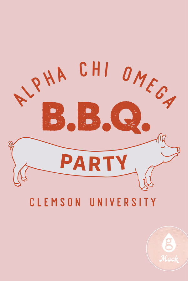 Alpha Chi Omega Food Function BBQ Pig