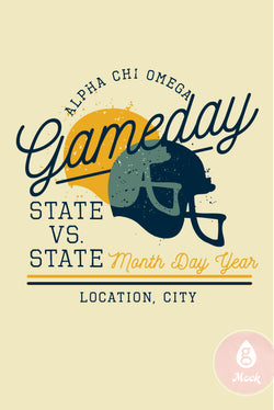 Alpha Chi Omega GameDay spt138