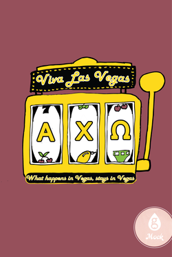 Alpha Chi Omega Mixer Vegas Slot Machine