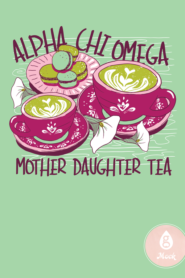 Alpha Chi Omega Mother Daughter Tea