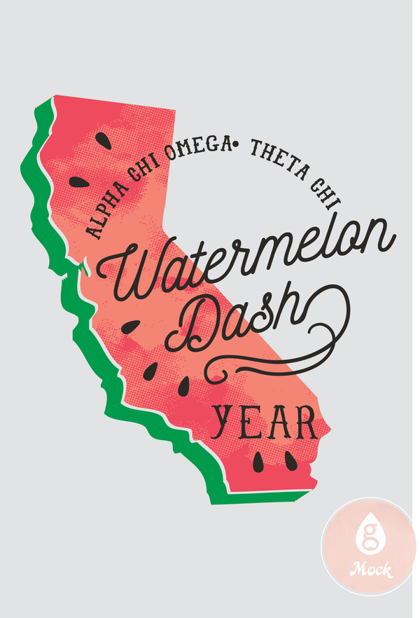 Alpha Chi Omega State Watermelon Dash