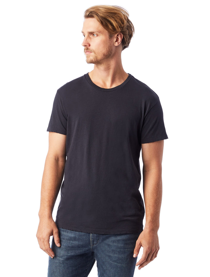 Alternative Apparel 04850cv Heritage Garment Dyed Distressed T-Shirt