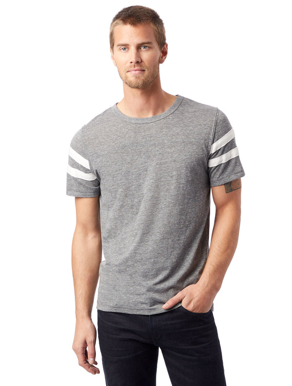 Alternative Apparel 12150E1 Eco-Jersey Football T-Shirt