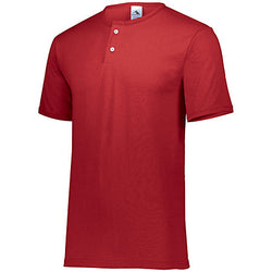 Augusta Sportswear 580 Two-Button Baseball Jersey