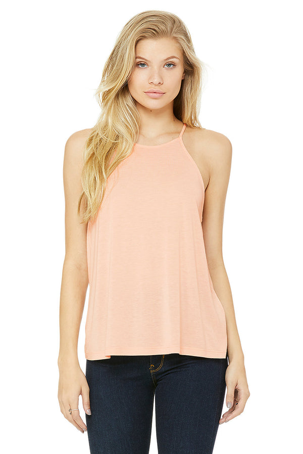 Bella + Canvas 8809 Women's Flowy High Neck Tank