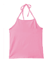 Cotton Spandex Jersey Halter Top