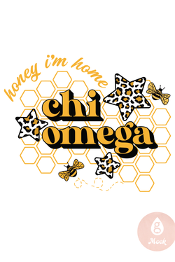 Chi Omega Honey I'm Home