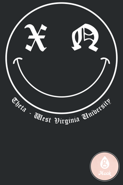Chi Omega PR Smiley Face