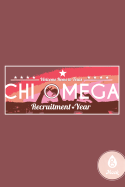 Chi Omega Sunset Recruitment