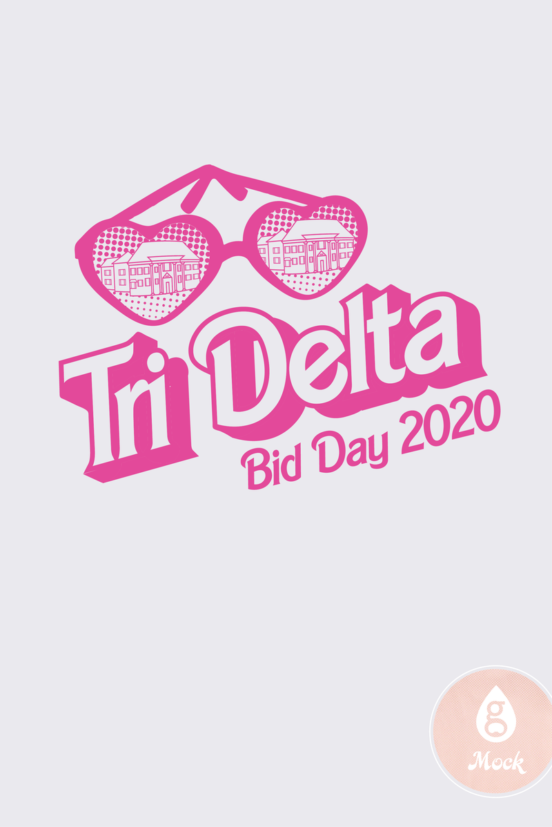 Delta Delta Delta Barbie Bid Day