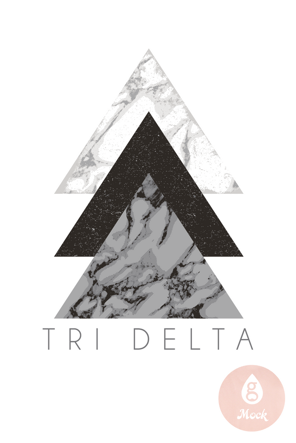 Delta Delta Delta Sisterhood Triangles