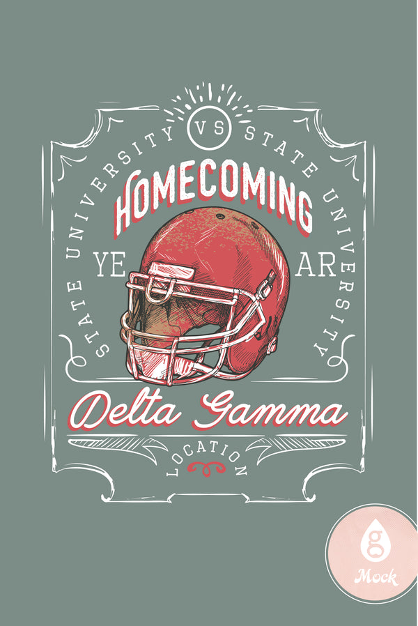 Delta Gamma Homecoming Game Day