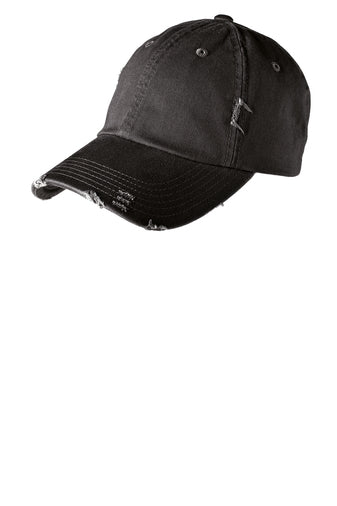 District ® Distressed Cap