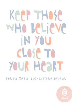 Delta Zeta Recruitment Quote