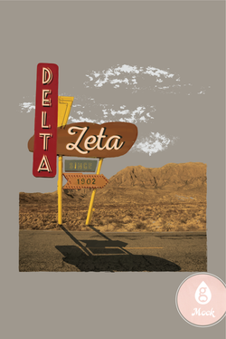Delta Zeta Highway Motel Sign