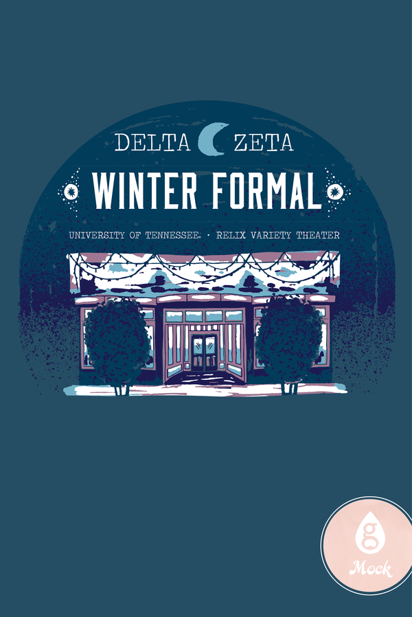 Delta Zeta Winter Formal Building