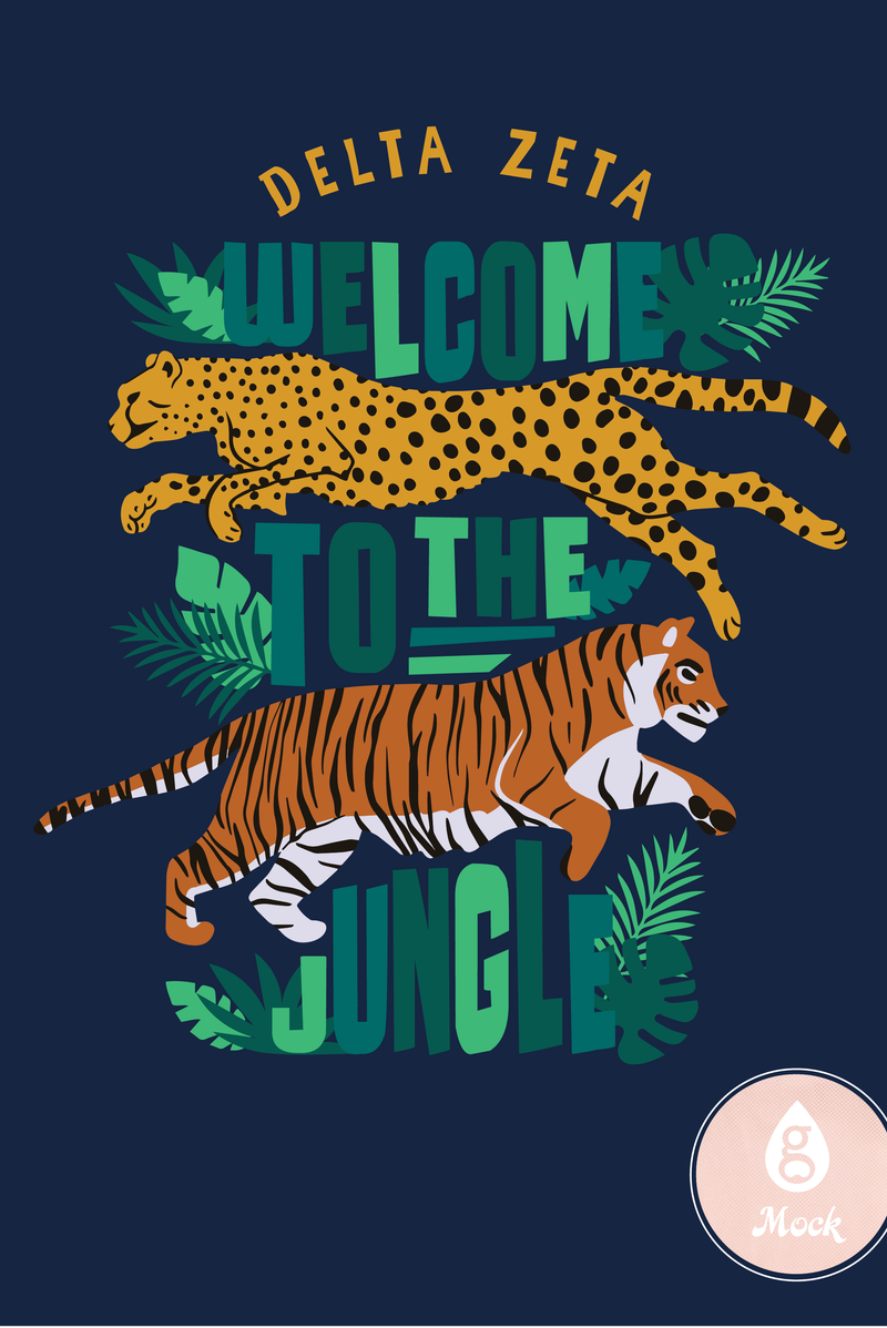 Delta Zeta Welcome to the Jungle