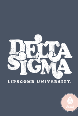 Delta Sigma Phi Distressed Bubble PR