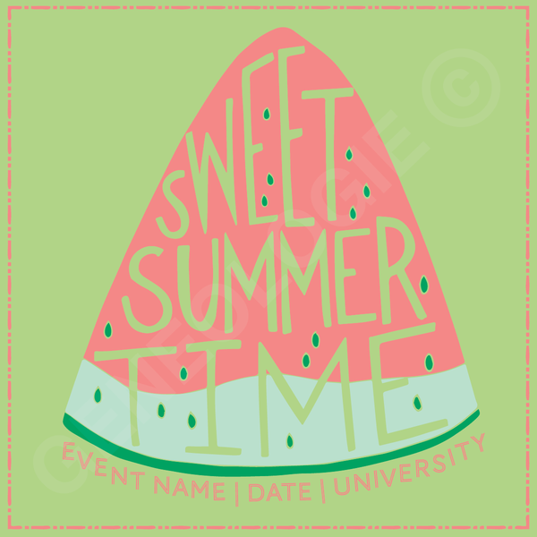 Sweet Summertime Watermelon