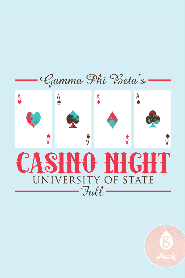 Gamma Phi Beta CasinoNight QuadAces