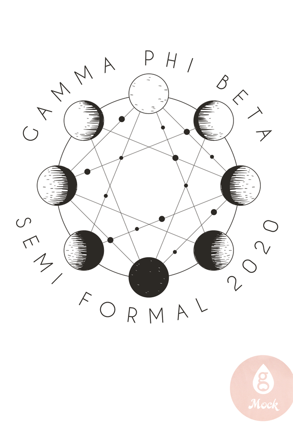 Gamma Phi Beta Semi Formal Moon Phases