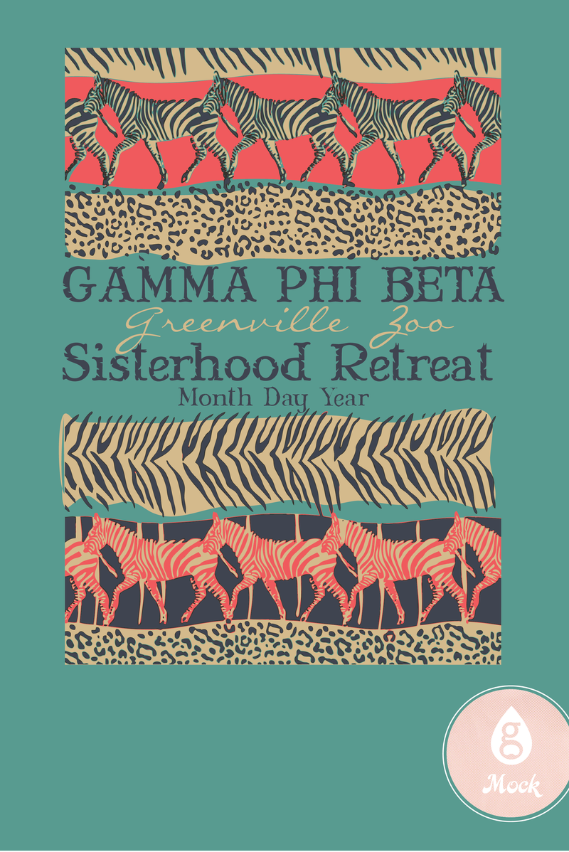 Gamma Phi Beta Zoo Retreat
