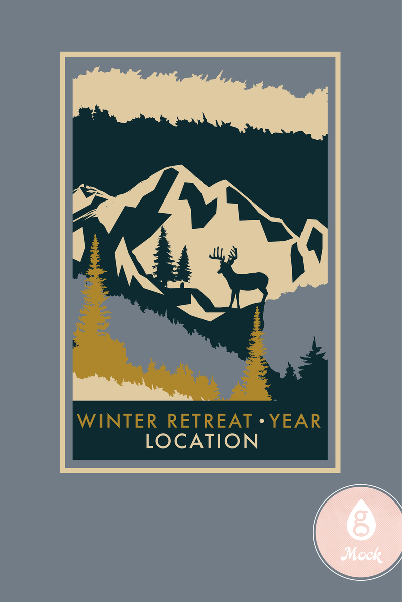 Winter Retreat Landscape