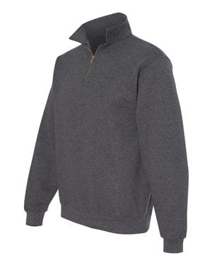 Jerzees 4528 Super Sweats NuBlend® Quarter-Zip Cadet Collar Sweatshirt