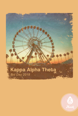 Kappa Alpha Theta Bid Day Ferris Wheel