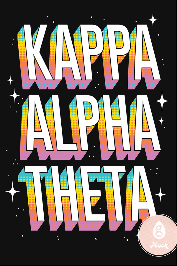 Kappa Alpha Theta Color Chrome