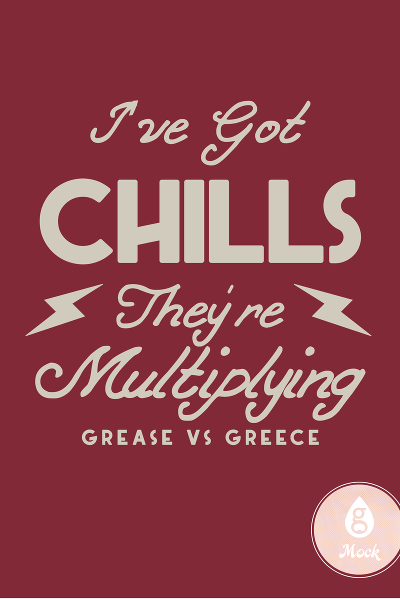 Kappa Delta Date Night Grease VS Greece