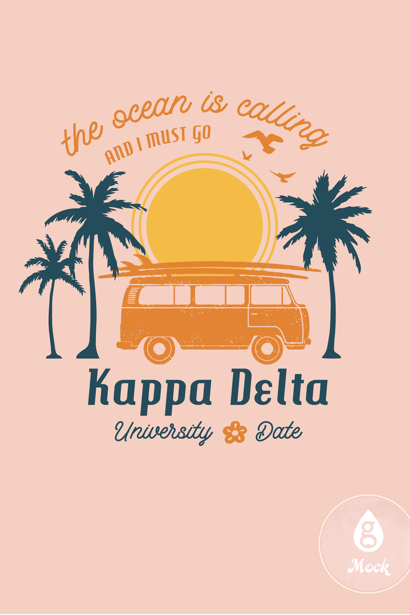 Kappa Delta The Ocean is Calling