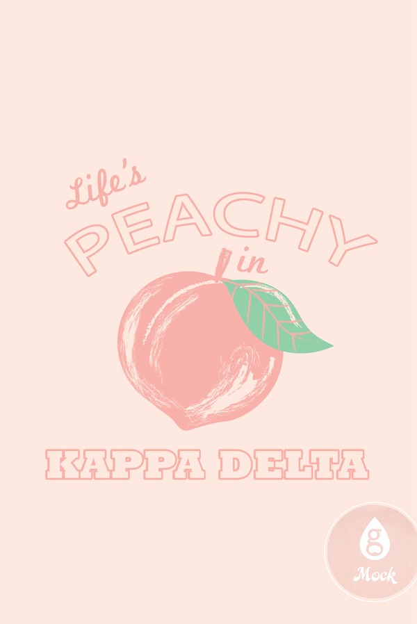 Kappa Delta Sisterhood Peachy R323
